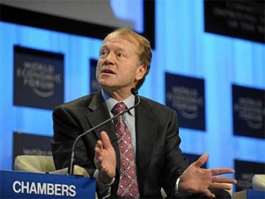 Джон Чемберс, один из самых успешных топ-менеджеров в мировой истории. Сыграл значительную роль в обеспечении роста капитализации компании Cisco Systems Inc.